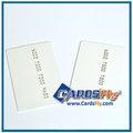 عالية الجودة بطاقة الائتمان الحجم cr80 منقوش رقم البطاقة البلاستيكية