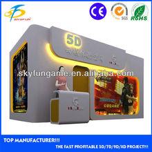 2014 hot sale mini 5D 7D 9D XD cinema cabinet house with motion seats for sale