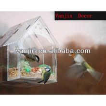 Acrylic Clear Pet Window Birds Feeder 0031404204