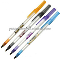 2014 Cheap Sand Blasting Bic Ball Pen For Promotion
