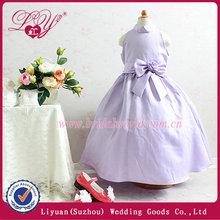 light purple flower girl dress