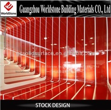 customized artificial marble mall cosmetic kiosk food jewelry
