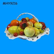 Ceramic/Porcelain Fruit Basket Decoration