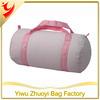 Sweet Dreams Pink Seersucker Duffel Bag