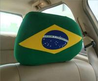 custom flag car seat cover