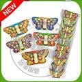 forma de borboleta comprimido doces