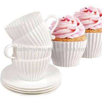 Afternoon tea cupcake