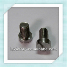 stainless steel slotted cheese head machine screw