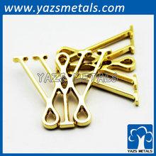 metal clothing logo