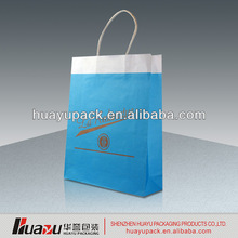 Popular peacock gift paper bag