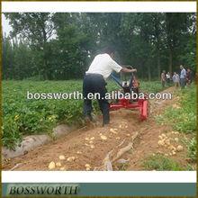 walking tractor carrot/potato harvesting machine