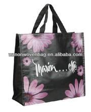PP woven shoulder bag Promotional school shoulder bag Shoulder shopping bag