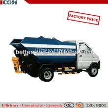 self-loading dump garbages trucks/standard garbage box volume 240 L