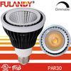 Factory direct dimmable par30 spotlight aluminium 15w e27 cob led par 30