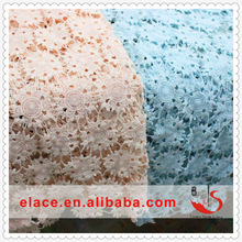 Different cheap material embroidery Italian many kinds of colors lace fabric
