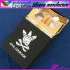 cigarette gift/plastic clear box/military cigarette case(FDA, LFGB)
