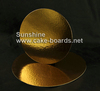 Sunshine Round Gold Cake Boards