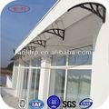 la lastra trasparente del pc con protezione uv tenda