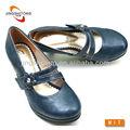 mulheres por atacado sapatos mary jane em azul marinho