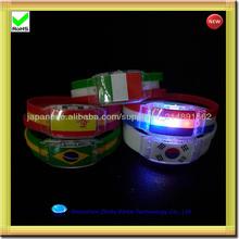 hot novelty items Led Flashing silicone Bracelets