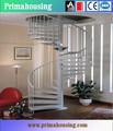 Escalier moderne en acier/décoratifs. escalier métallique/pr-s09 escalier métallique industrielle