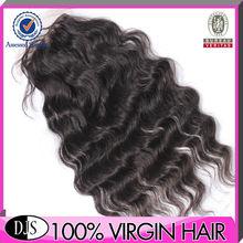 Hot Promotion 100% 4*3.5 Virgin Hair Silk Base Free Part Closure