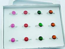 Wholesale Colorful Acrylic Women Ring (XWJ-1182)