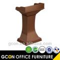 alta qualidade da madeira púlpitos para igreja gb421