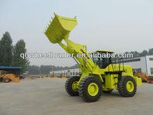 Shangchai engine & ZF gearbox front end wheel loader 5 ton, Joystick control 5 ton front end wheel loader