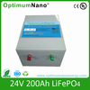 battery lifepo4 battery 24v 200ah for communication base station