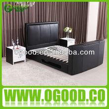 Moderna liquidación camas / cama TV / de almacenamiento de juego de cama OB005