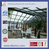 max size 26*65ft portable conservatory glass house/sunroom/winter garden house