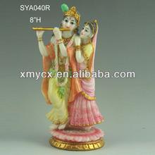 Wholesale marble rodha krishna statues