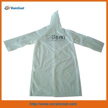 New design custom functional long pvc rain poncho for adults