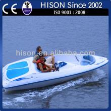 2014 Hison China factory directly sale fiberglass passenger boat