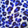 özel leopar desenli ipek şifon kumaş