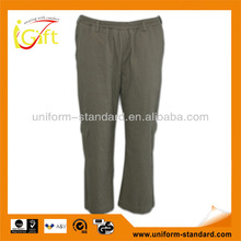 homewear cotton unisex trousers with elastic waist