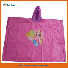 New design custom functional pvc raincoat /poncho for adults