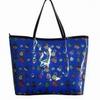 beautiful pvc shoulder bag with pocket/newest design bag