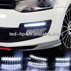 Car Truck led Daytime Running Light Head Lamp White 8 LED DRL Daylight