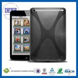C&T Latest x pattern design tpu case for ipad mini case supplier