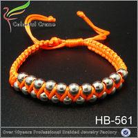 2015 lucky beads acrylic beads bracelet for india silver bracelet