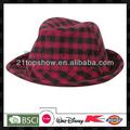 قبعة دلو فحص النساء الجنس الأحمر