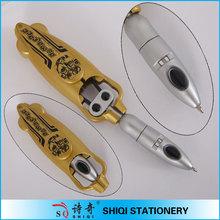 2014 Promotional plastic creative robotic pens
