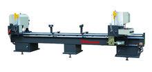 aluminum profile two head cnc precision sliding miter saw