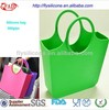 2014 Hot Selling Eco-friendly New Design female Silicon Tote Bag