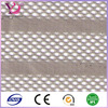 knitted polyester and lerex stripe fabric for curtain clothing