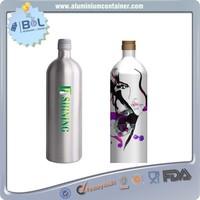 wholesale vintage wine aluminum lotion bottle 700ml 200ml bottles famous brand professional manufacturer