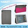 Book style PC case for ipad mini, for ipad mini folio case