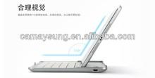 For iPad mini Ultrathin Aluminum Alloy Wireless Bluetooth Keyboard Case Cover